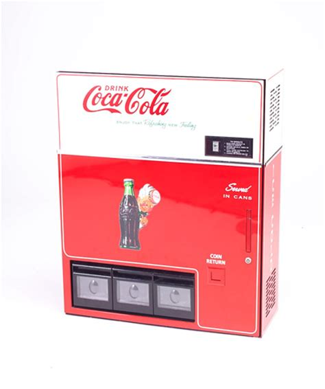 coca cola wall and table top vending machine c 634529