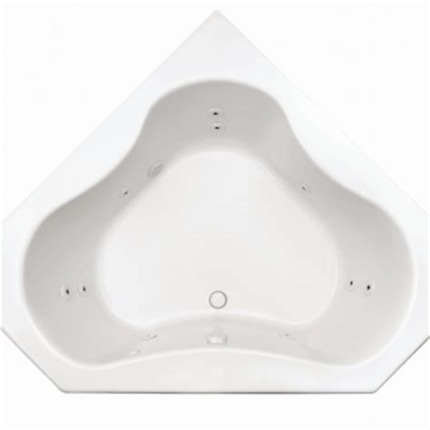 Eljer Bathtubs by Eljer Gemini 60 Inch By 60 Inch Corner Combo System Product Detail