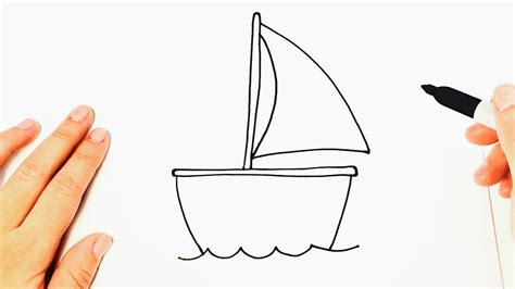 barco dibujo dibujos de barcos faciles www imagenesmy