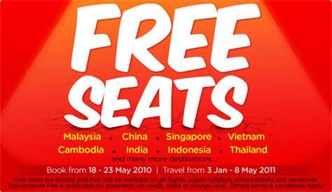 airasia zero fare eat drink dance repeat seat sale alert air asia