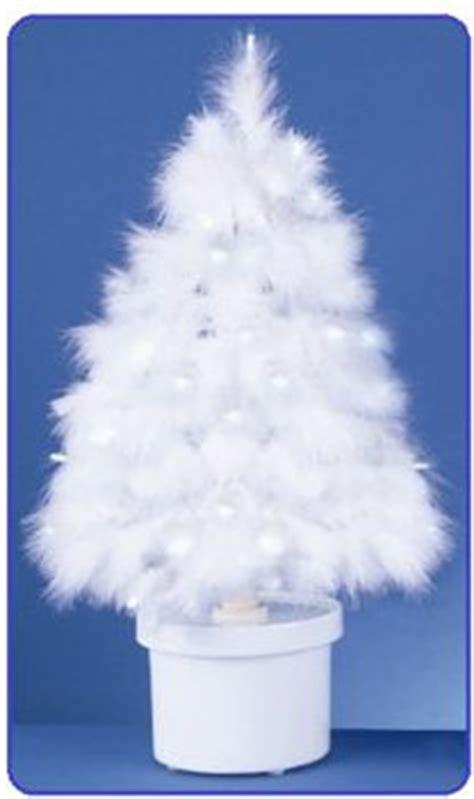 white tree lights amazon white feather tree with led lights amazon co uk