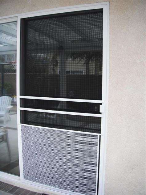 Sliding Screen Door Guard by The Mobile Screen Shop Installation Gallery