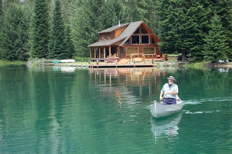 Big Cabins On The Lake by Stehekin On Lake Chelan