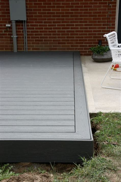 grey trex deck housetweaking what do you think of this