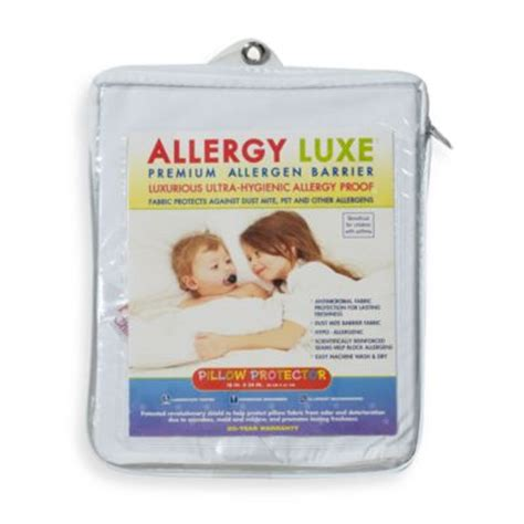 allergy bedding baby bedding gt allergy luxe 174 bed bug pillow protector