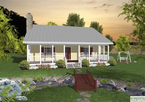 home plans with front porch 953 sq ft small house design the house designers