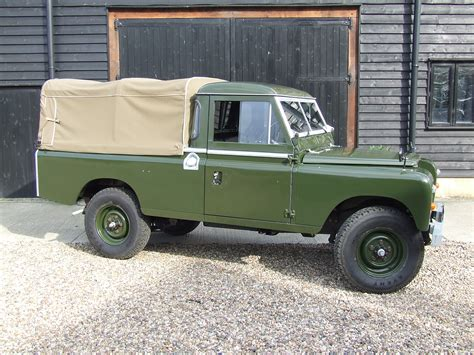 land rover pickup for land rover series 2 a 109 pick up oliver cars ltd