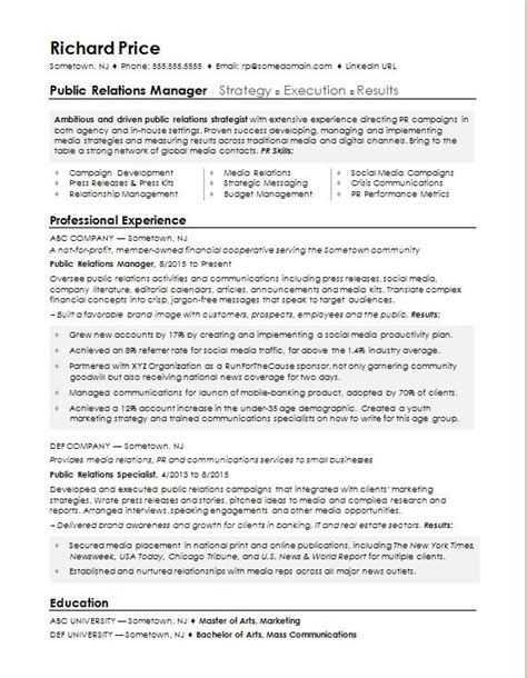 public relations officer job description template cv collection of