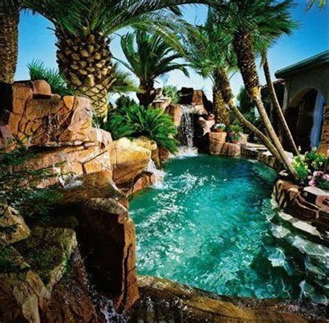 Awesome Backyard Pools Awesome Swimming Pool For The Home
