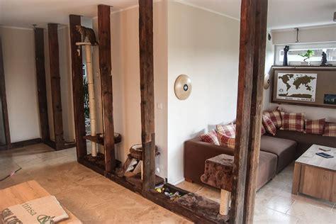 fachwerk wohnzimmer kratzbaum selber bauen zu rosa