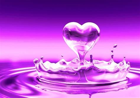 themes love hart purple heart wallpapers wallpaper cave