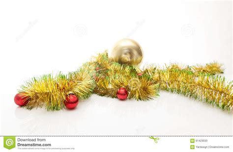 yellowing on white tinsel frame from tinsel stock photo cartoondealer 60388920