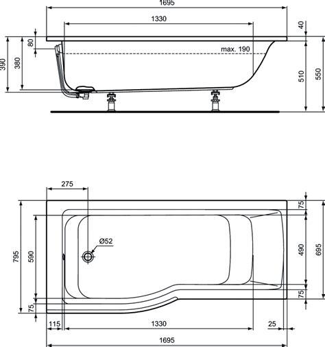 product details e1134 baignoire avec zone de
