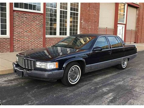 96 Cadillac Fleetwood Brougham by 1996 Cadillac Fleetwood Brougham For Sale Classiccars