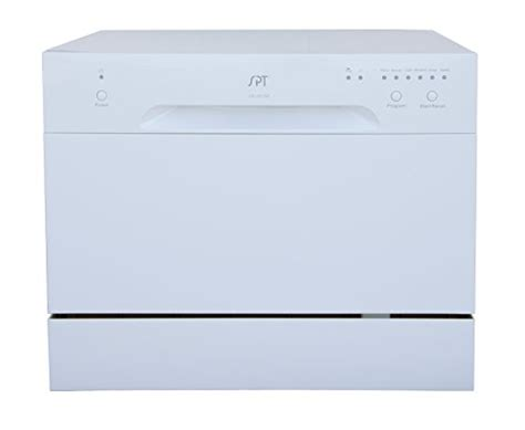 awardpedia spt countertop dishwasher white