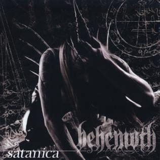 Kaos Black Metal Behemoth Satanica satanica album
