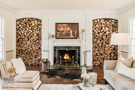 lagerung brennholz brennholz lagern 50 ideen f 252 r stauraum