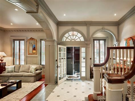 home interior town home with beautiful architectural elements
