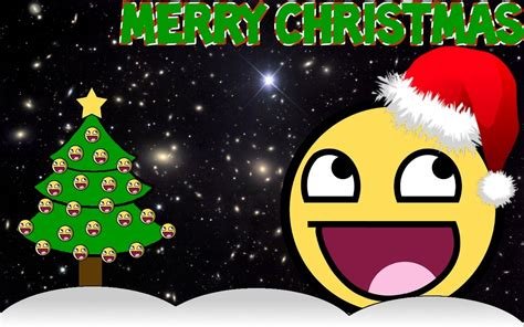 awesome face christmas by pridofscke on deviantart
