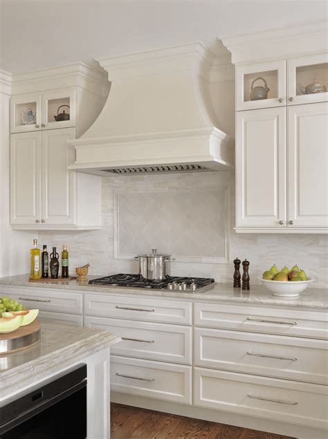 hood cabinet kitchen cabinets above stove custom this traditional kitchen renovation paired custom white