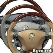08u97 sja acura steering wheel wood grain rl