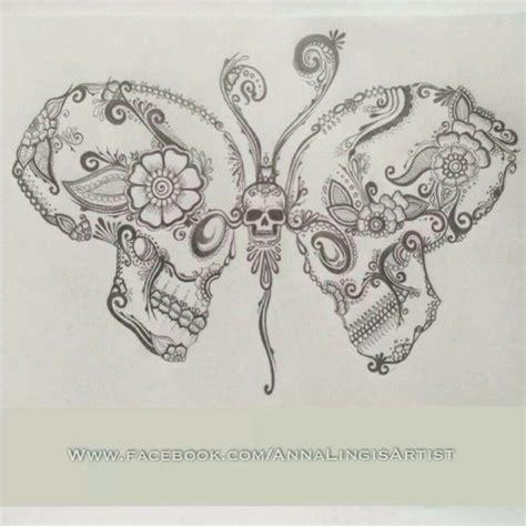 skull butterfly tattoos 17 best ideas about skull butterfly on