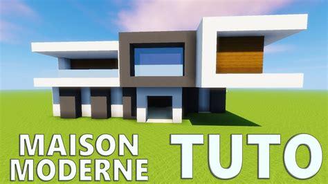 Maison Moderne Minecraft Plan 946 by Tuto Maison Moderne Minecraft