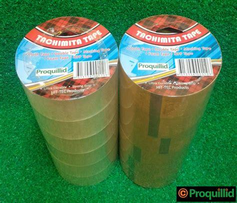 Plakban Bening Clear 2 Nachi proquillid lakban isolasi opp packaging bening clear coklat brown 48 mm 2 quot x 0