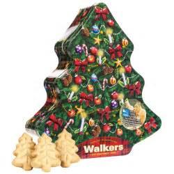 walkers shortbread christmas tree tin rspb christmas