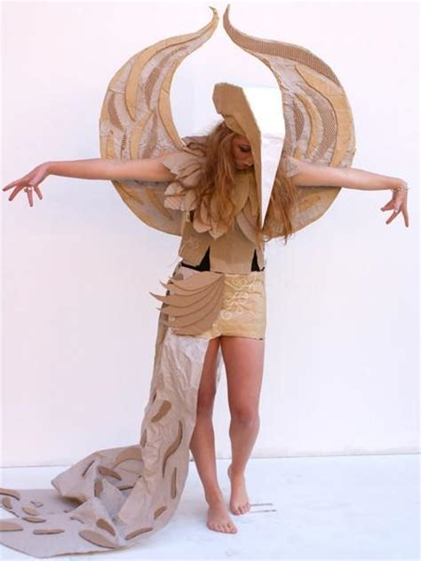 students design amazingly creative cardboard costumes