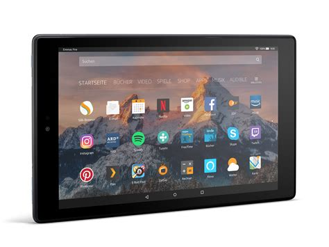amazon fire hd 10 test amazon fire hd 10 2017 tablet notebookcheck com tests