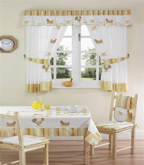 Kitchen Dining Room Curtains Decobizz Com Curtain Design For Kitchen