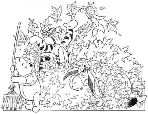 Dessin 195 Colorier D Automne Disney Dessin De Paysage Dautomne A Imprimer L
