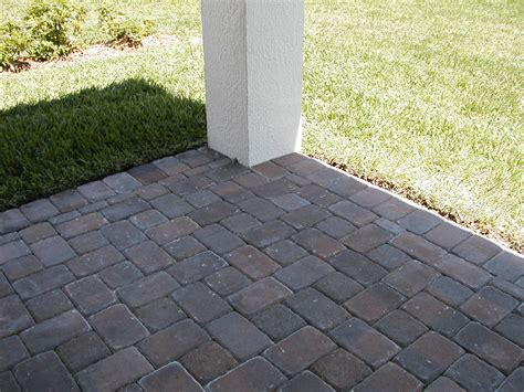 types of patio pavers paver patio color block type outdoor space