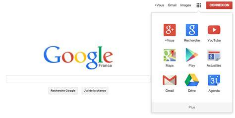 flat design guide google google relooke sa barre de navigation et met son logo au