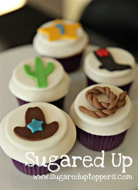 themed cupcake decorations best 25 cowboy cupcakes ideas on cowboy