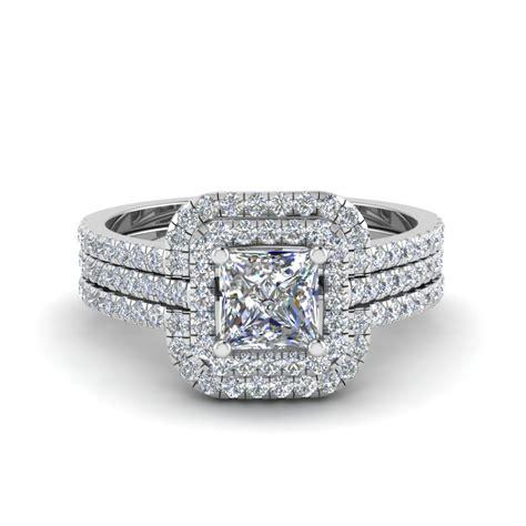 buy our princess trio wedding ring sets fascinating diamonds
