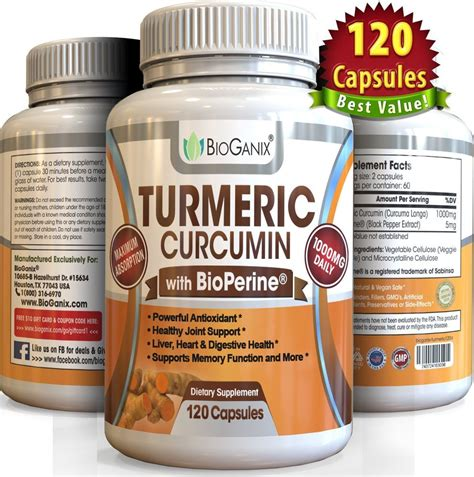 supplement with best turmeric curcumin extract supplement with bioperine