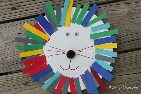 Crafting L by The Activity Paper Plate Alphabet Craft L Is For