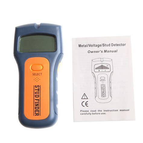 Digital Wall Stud Scanner Ac Wire Finder Wood Metal Detector 3 In 1 Wood Metal Wall Detector Multimeter Digital Pinpointer