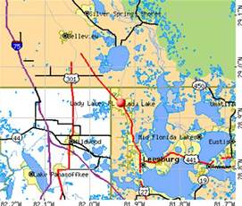 Lady Lake Florida Map by Lady Lake Florida Fl 32195 Profile Population Maps