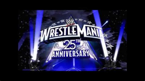 theme song wrestlemania 30 wwe wrestlemania 25 theme song youtube