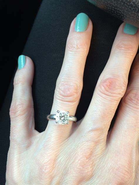 Need to see some size 4 fingers with engagement rings!