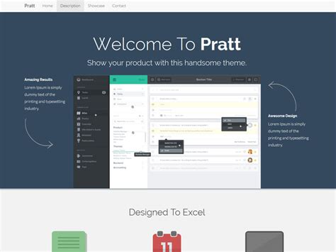startup landing page template pratt app landing or startup page bootstrap template