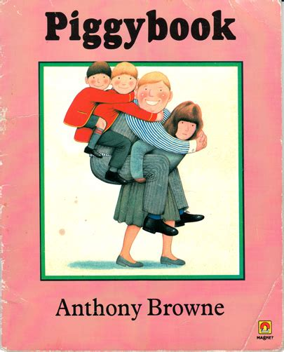 anthony browne picture books piggybook anthony browne