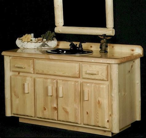 Pine Bathroom Vanity Walnut And Reclaimed Barnwood Vanity