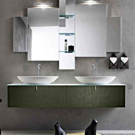 lavabo e mobile bagno un bagno per due mobile con doppio lavabo arredamento