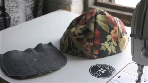 how to make a snapback baseball hat properfit diy doovi