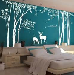 Wall Sticker Trees stickers chambre adulte lesquels choisir archzine fr