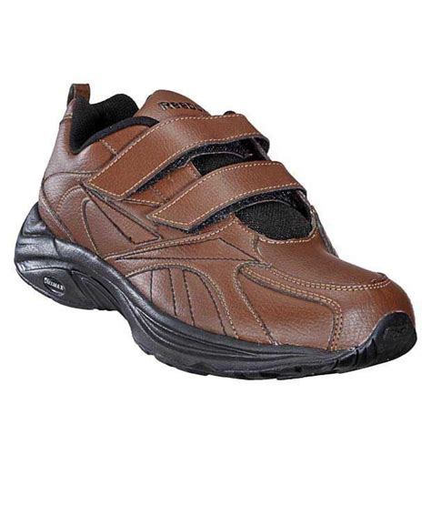 reebok walking shoes reebok walk max velcro brown walking shoes price in india